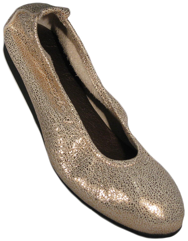 Arche Women's Laius Ballet Flat B0777QTS2W 40 M EU Quartz/Bronze