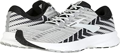e5114182ad5 Brooks Men s Launch 6 Alloy Black Grey 7 ...