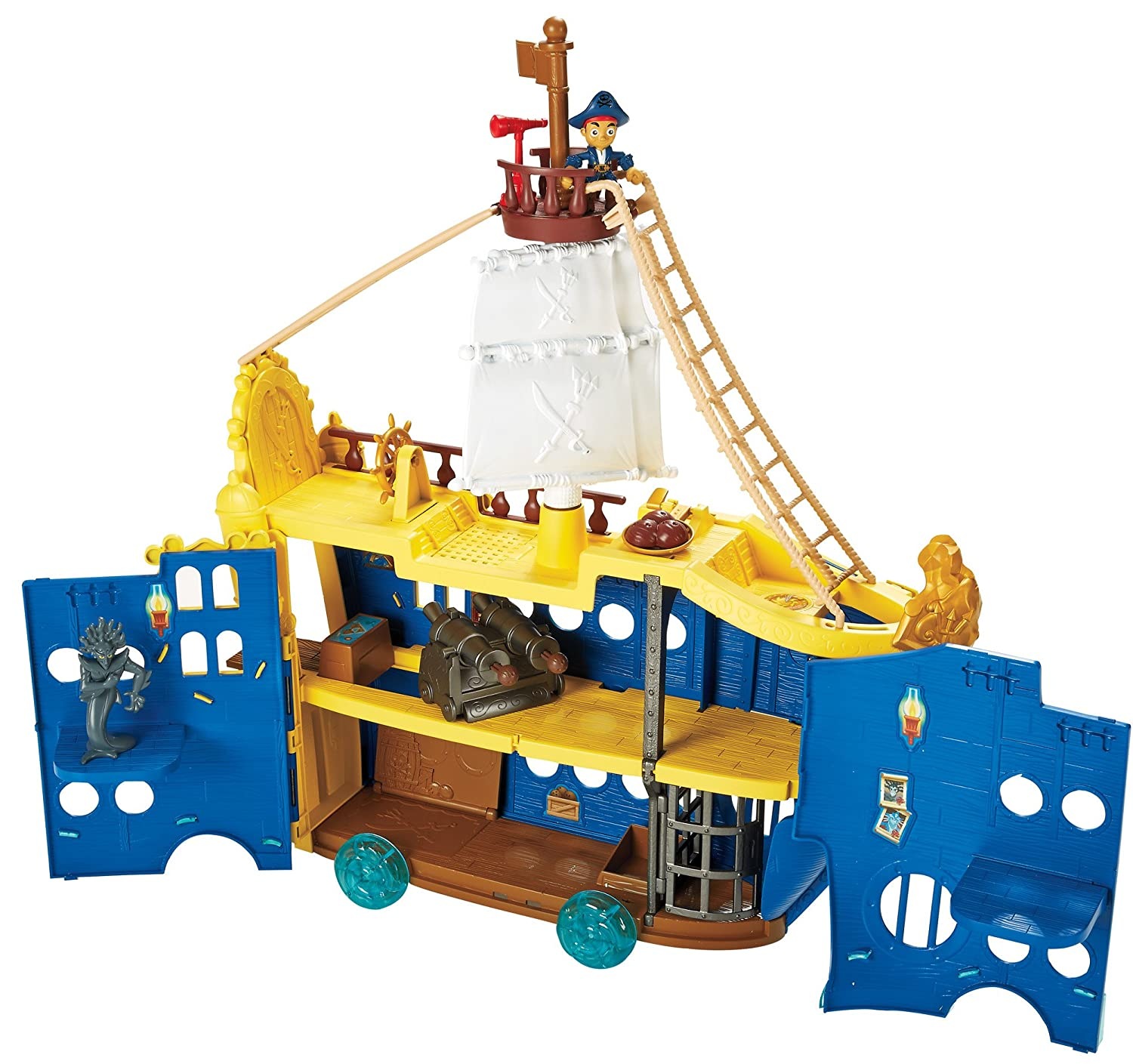 amazon com captain jake and the never land pirates figure play