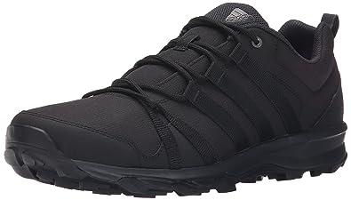 adidas outdoor Men's Tracerocker Trail Running Shoe, Black/Dark Grey/Black,  13