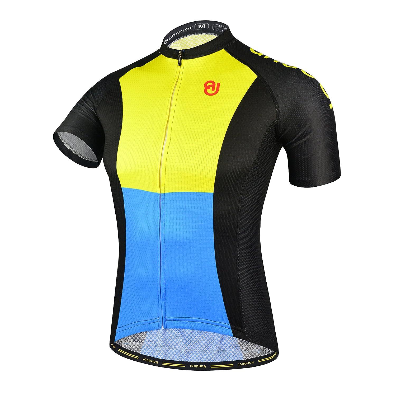 andoor SHORTS レディース B075Z74GR6  Yellow&blue S