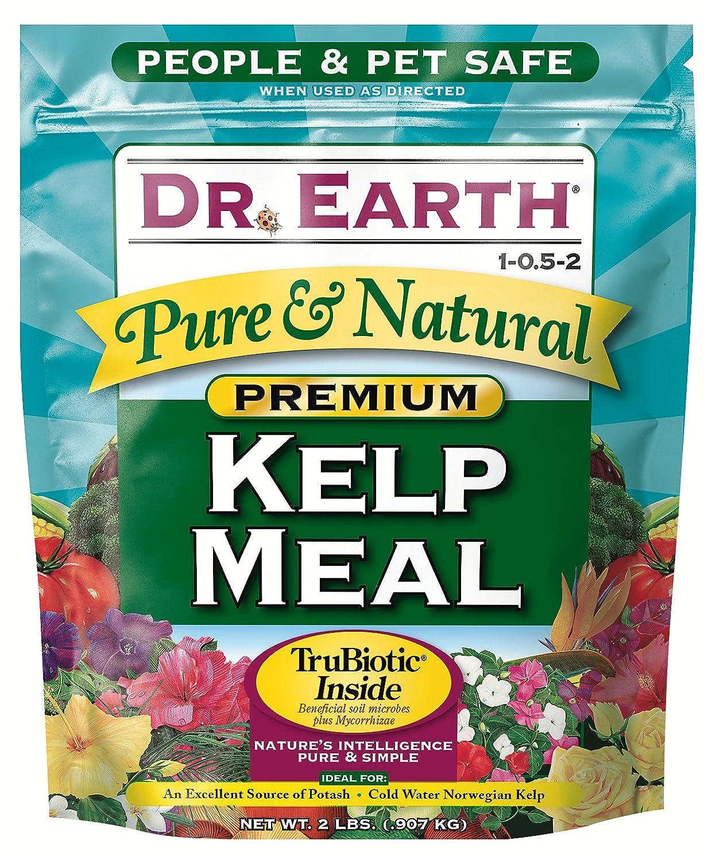 Dr Tierra 725 Kelp fertilizantes orgánicos comida, 2-lb. Caja ...