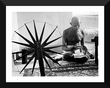 Tallenge - Mahatma Gandhi Charkha Poster Large Poster Paper