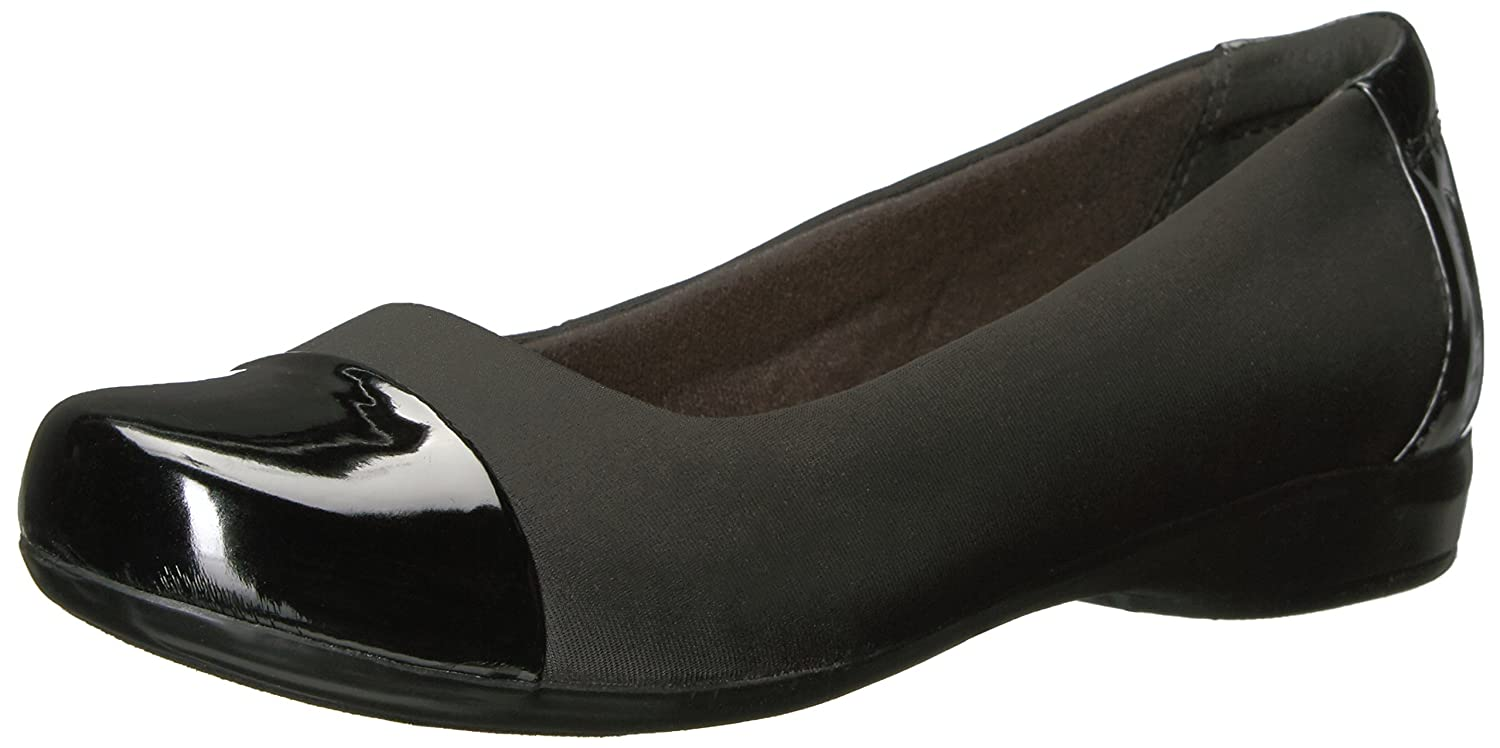 CLARKS Women's Kinzie Time Flat B01N4CCQX6 11 B(M) US|Black Multi