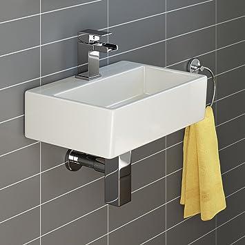 iBathUK Moderne Waschbeckenarmatur, Keramik, Waschbecken ...