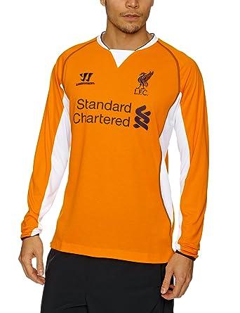 Warrior Liverpool - Camiseta de fútbol, tamaño XL, color naranja