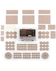 Hynec Premium Furniture Felt Pads Set Various Home Size Stick On Floor Protection