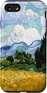 iPhone SE (2020) / 7 / 8 Van Gogh Wheat Field with Cypresses Modern Art Painting Case