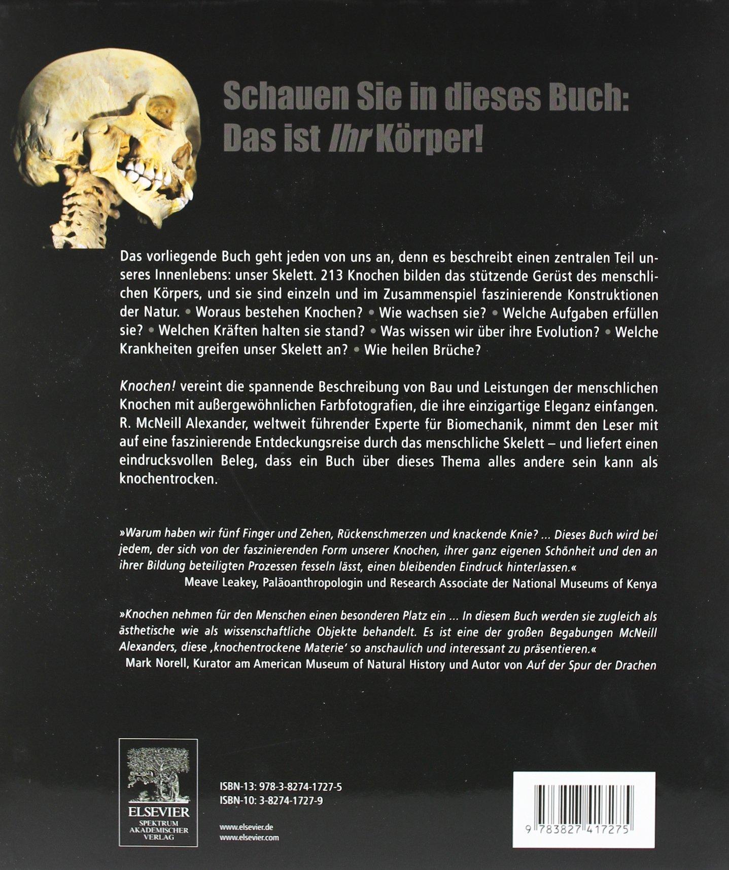 Knochen!: Was uns aufrecht hält - das Buch zum menschlichen Skelett ...
