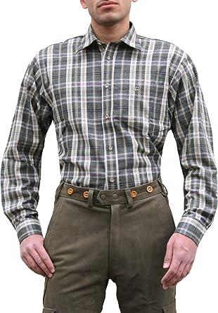 German Wear Caza Camisa para Cazador Caza Camisa Verde Oliva ...