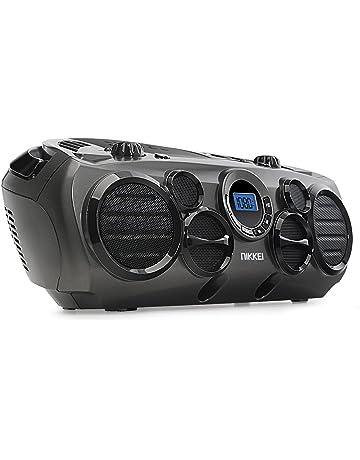 Nikkei NPRC90AT - Radio portátil (MP3, CD, USB, Potencia de Salida DE