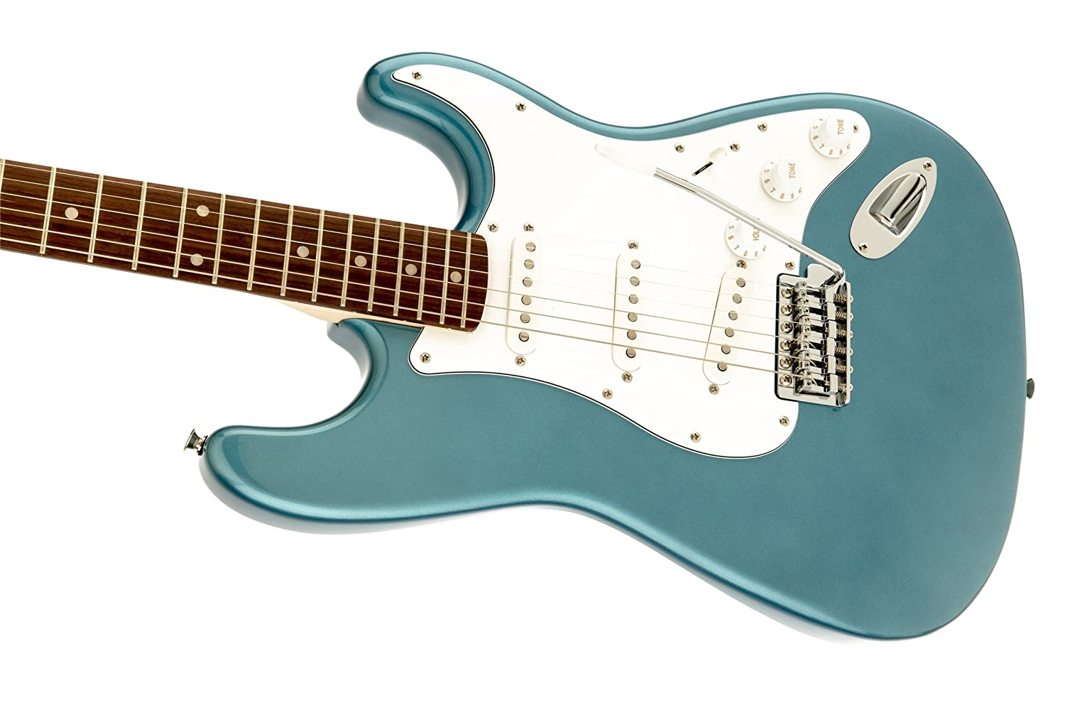 SQUIER BY FENDER STRATOCASTER LAKE PLACID BLUE AFFINITY Electric ...