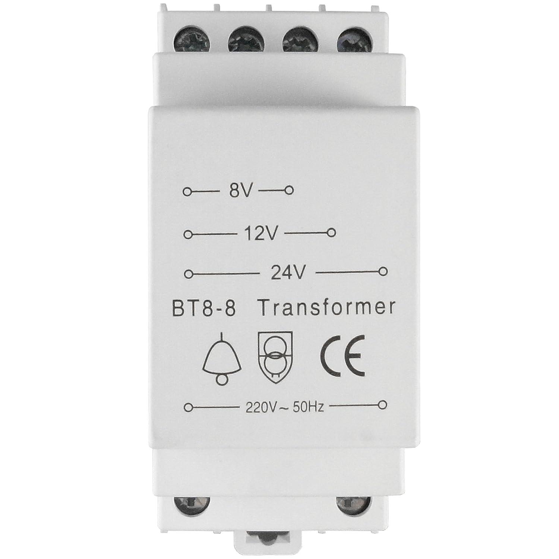 Doorbell transformer 12v jcl bt88 brand bell for 12v dc door bell