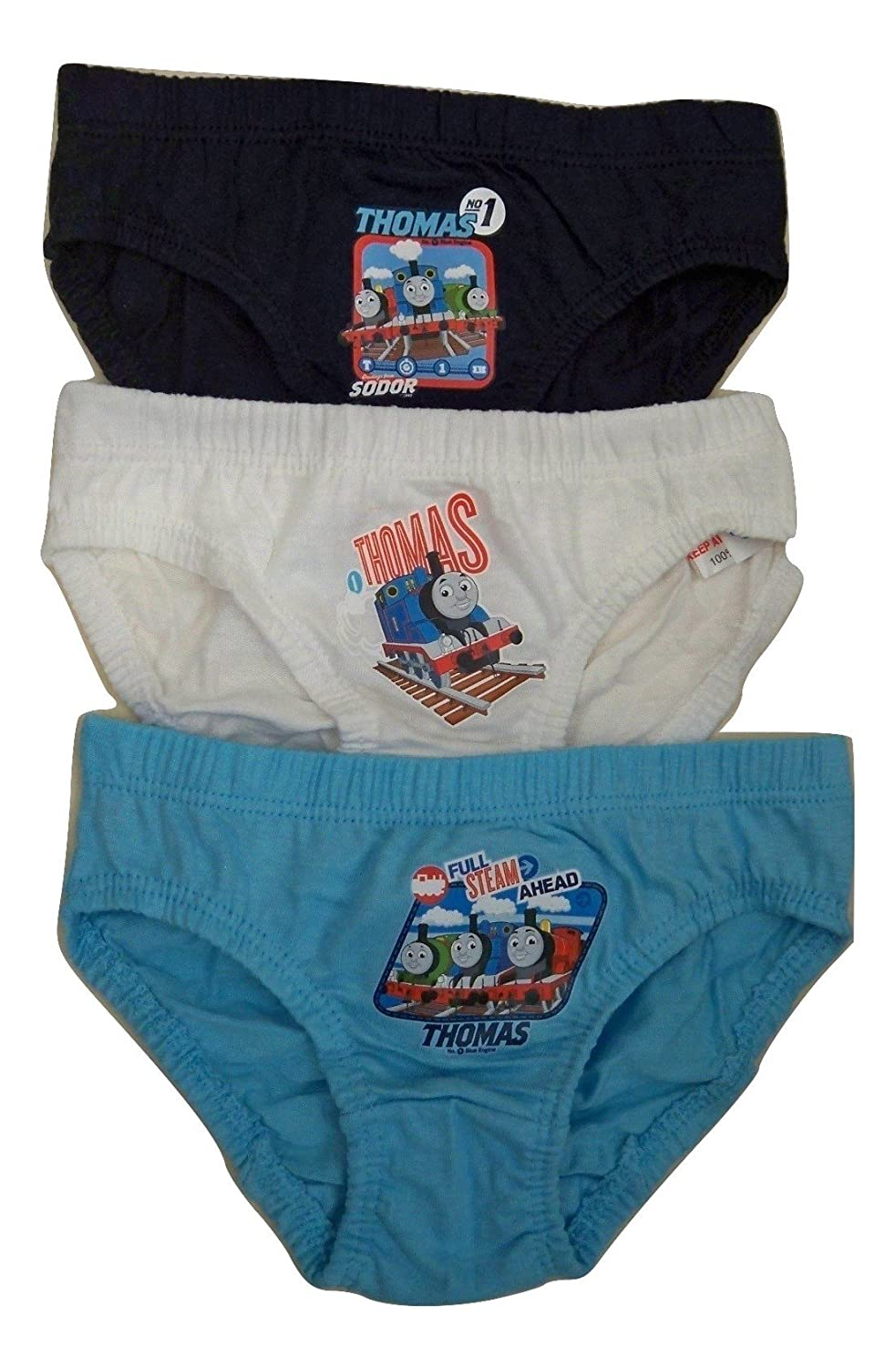 Thomas the Tank Engine Baby Boys Briefs 3 Pack 18-24 Months, Thomas and Friends Briefs