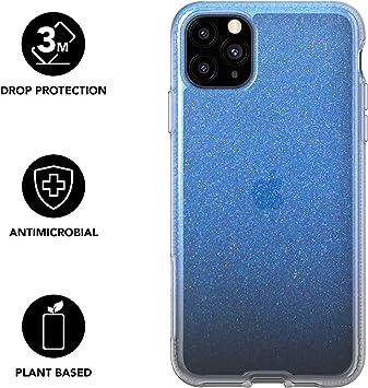 Tech21 Pure Shimmer - Carcasa para iPhone 11 Pro MAX (Ultrafina, Efecto Brillante, propiedades antimicrobianas y protección contra caídas, Color Azul: Amazon.es: Electrónica