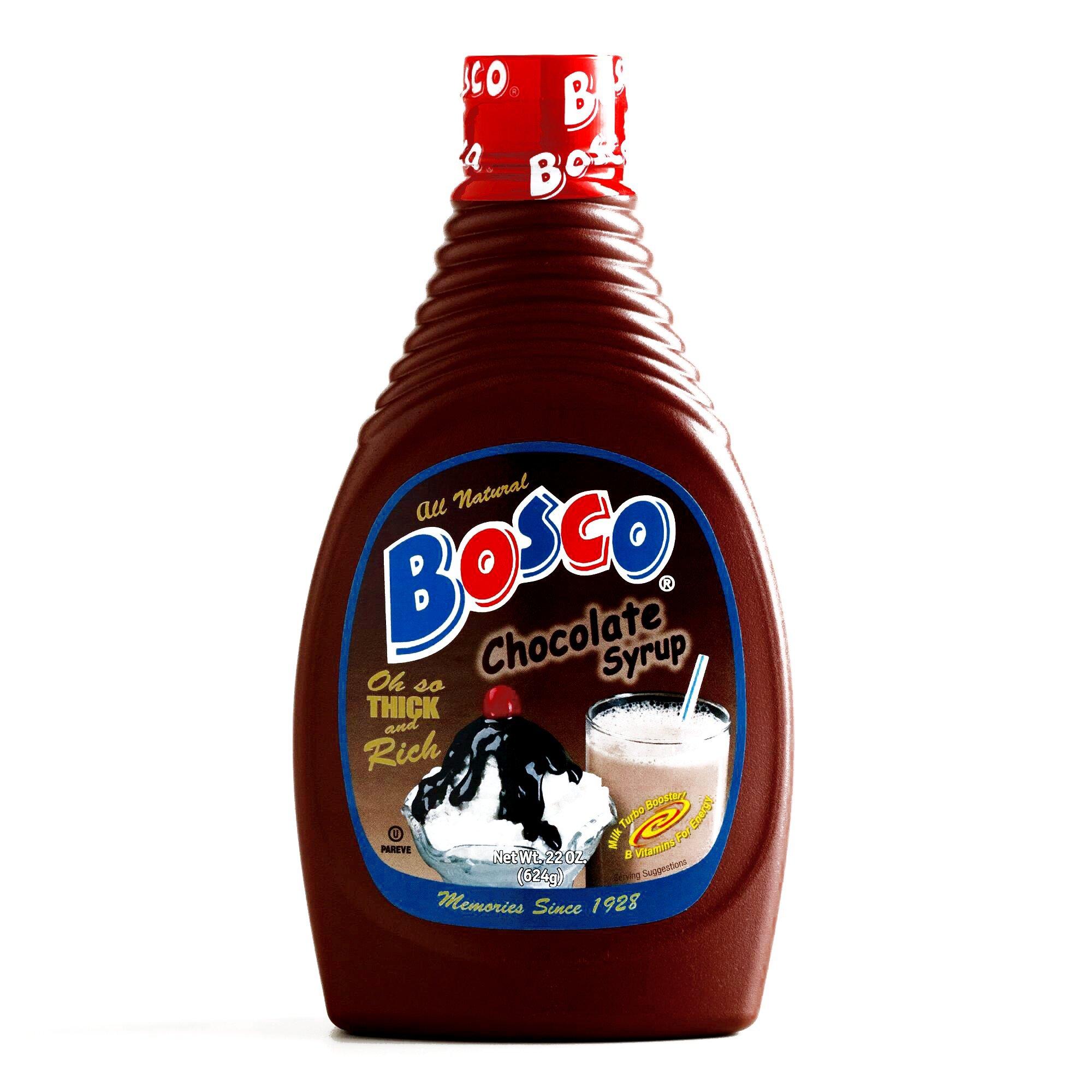 Bosco Chocolate Syrup 22 oz each (6 Items Per Order)