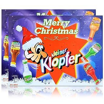 Kleiner Weihnachtskalender.2x Kleiner Klopfer Merry Christmas Adventskalender 15 20 Vol