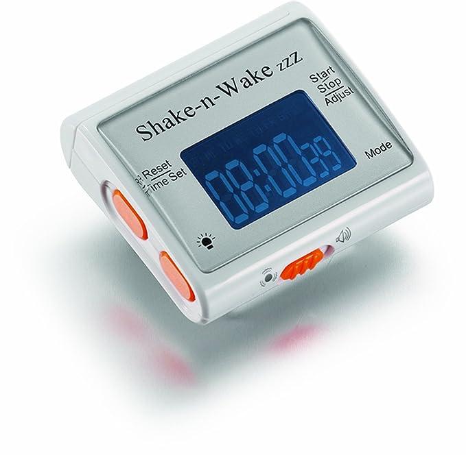Thumbs Up UK Shake N Wake Silent Alarm Clock