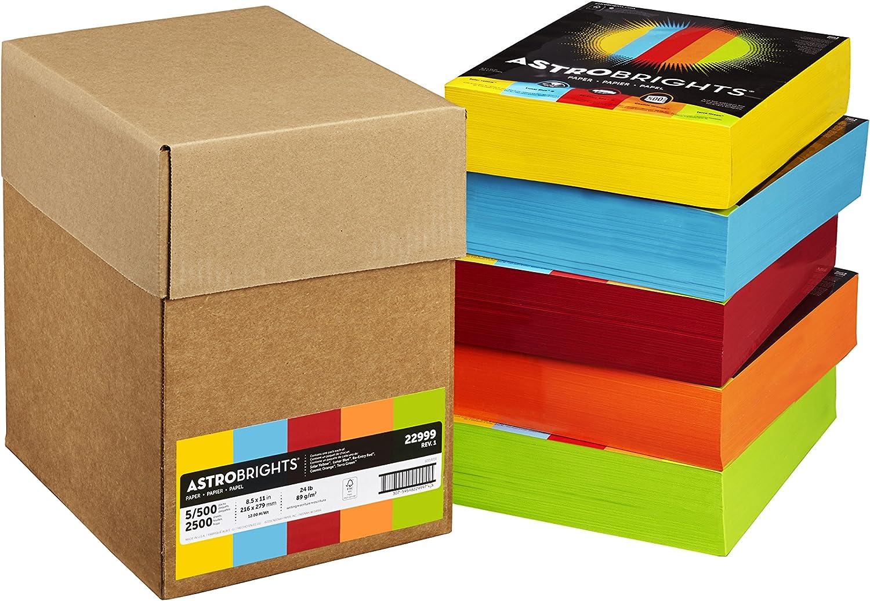 - Amazon.com : Astrobrights Color Paper, 8.5