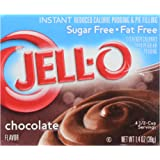 Jell-O Instant Pudding Sugar-Free Fat-Free Chocolate, 1.4 oz