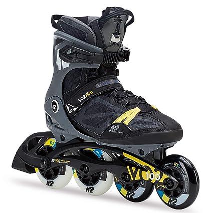 c558c65348d Amazon.com : K2 Skate Men's VO2 100 X Pro Inline Skate, Black Gray ...