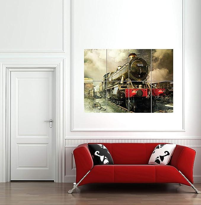 Vintage War POSTER.Home Interior Design.US TRAIN.Railroad.Wall art Decor.1041