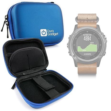 DURAGADGET Estuche Rígido Azul para Sony Smartwatch 3 ...