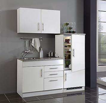 Held Möbel 972.6513 Single-Küche 160 mit 2-er E-Mulde und ...