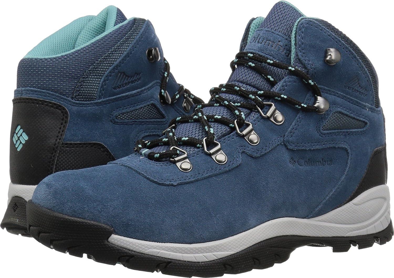 Columbia Women's Newton Ridge Plus Waterproof Amped Hiking Boot B073V9LLB3 5.5 W US|Whale, Iceberg