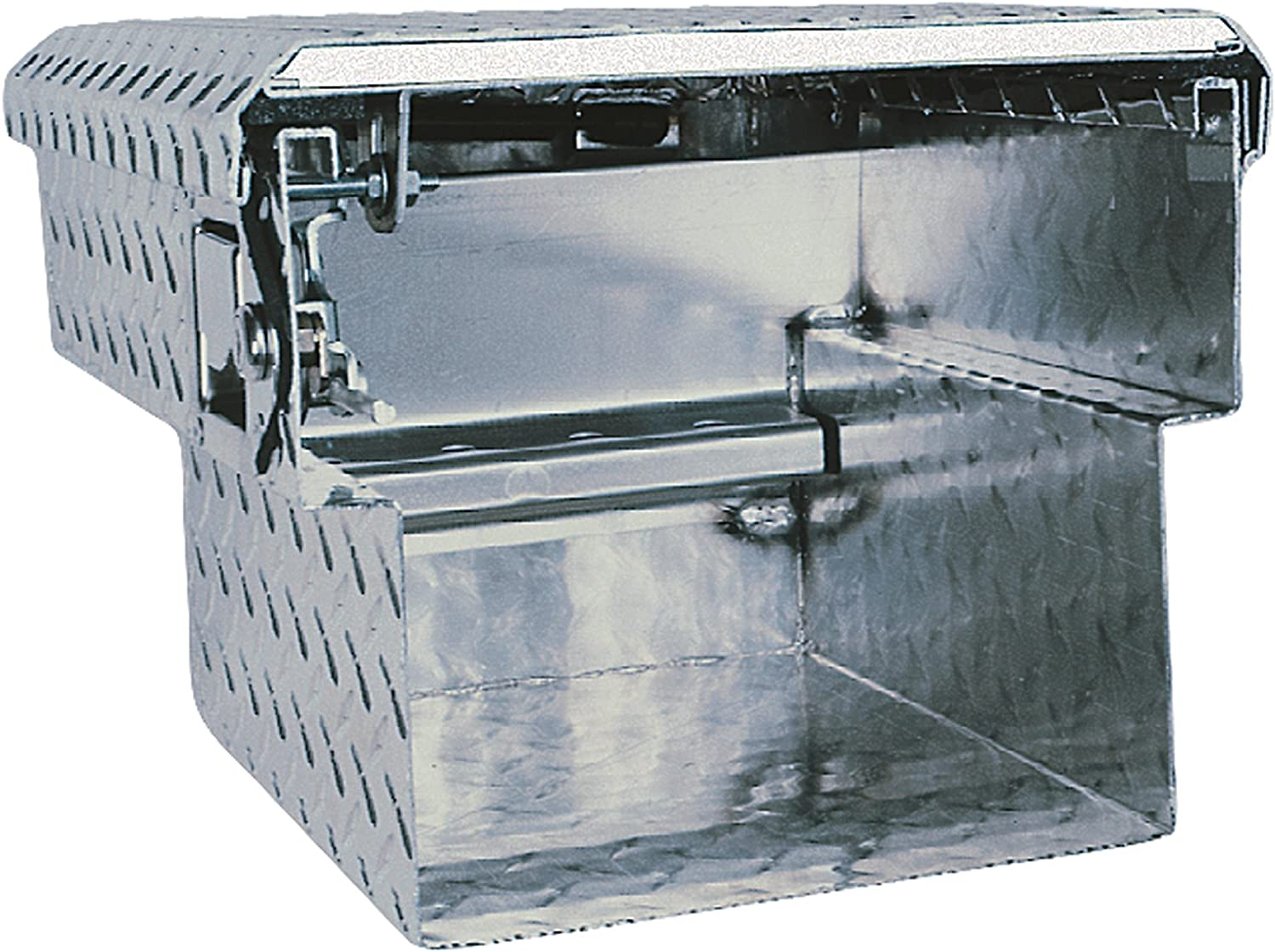UWS TBC-62-WN Wedge Chest Aluminum Box with Beveled Insulated Notched Lid