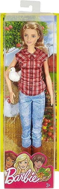Amazon.es: Barbie - Muñeca granjera: Juguetes y juegos