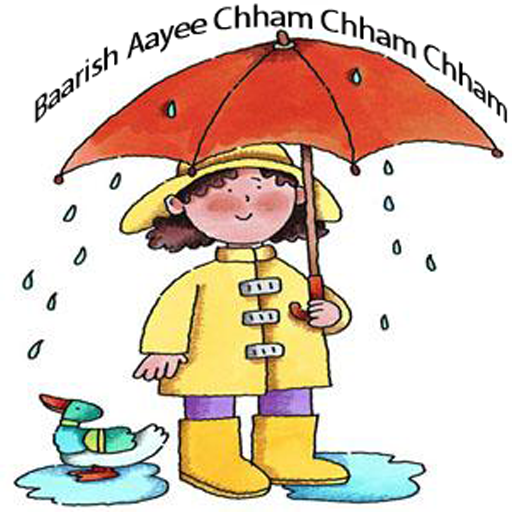 Hindi Kids Nursery Rhyme Baarish Aayee Chham Chham (Nursery Rhymes Frogs)