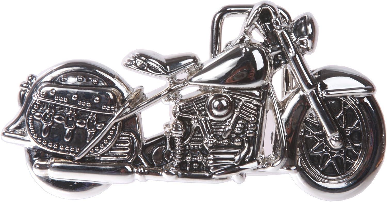 Motorcycle Belt Buckle: Clothing