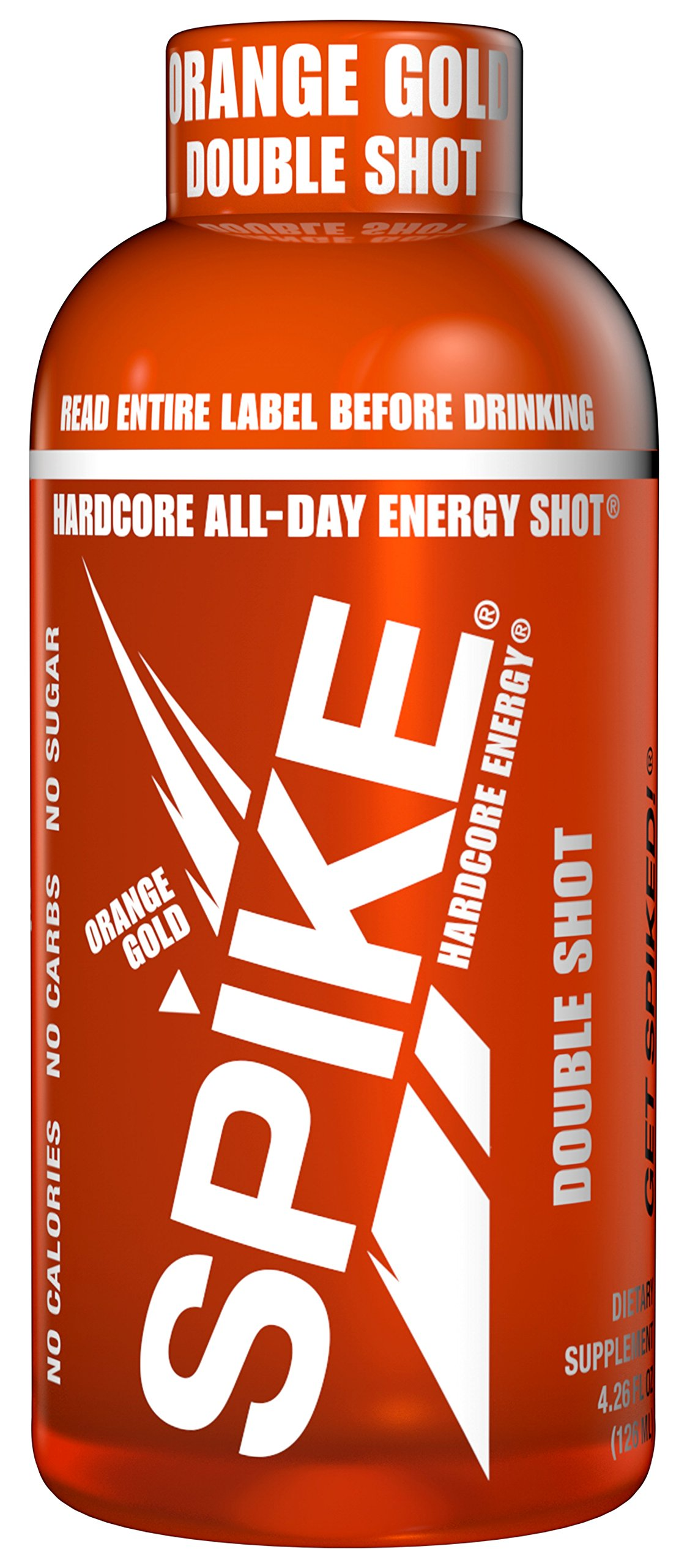 Spike Double Shot - Orange - 24 (4.26 oz) by Spike (Image #1)