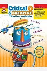 Critical & Creative Thinking Activities, Grade 1 Paperback