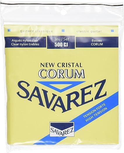 Savarez Cuerdas para Guitarra Clásica New Cristal Corum Juego ...