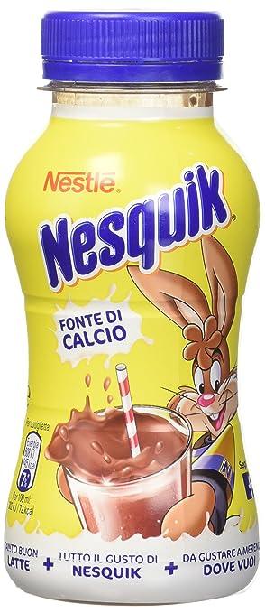 5 opinioni per NESQUIK PRONTO DA BERE bevanda a base di latte e cacao solubile bottiglia 200ml