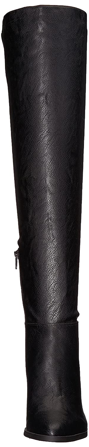 Nine West Women's Wiseplay Synthetic Knee High Boot B072LJCGJ5 10.5 M US|Black Synthetic