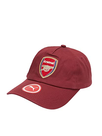 2f6c22f8da58ab Amazon.com : PUMA Arsenal Training Cap 2018/2019 - Maroon : Sports &  Outdoors