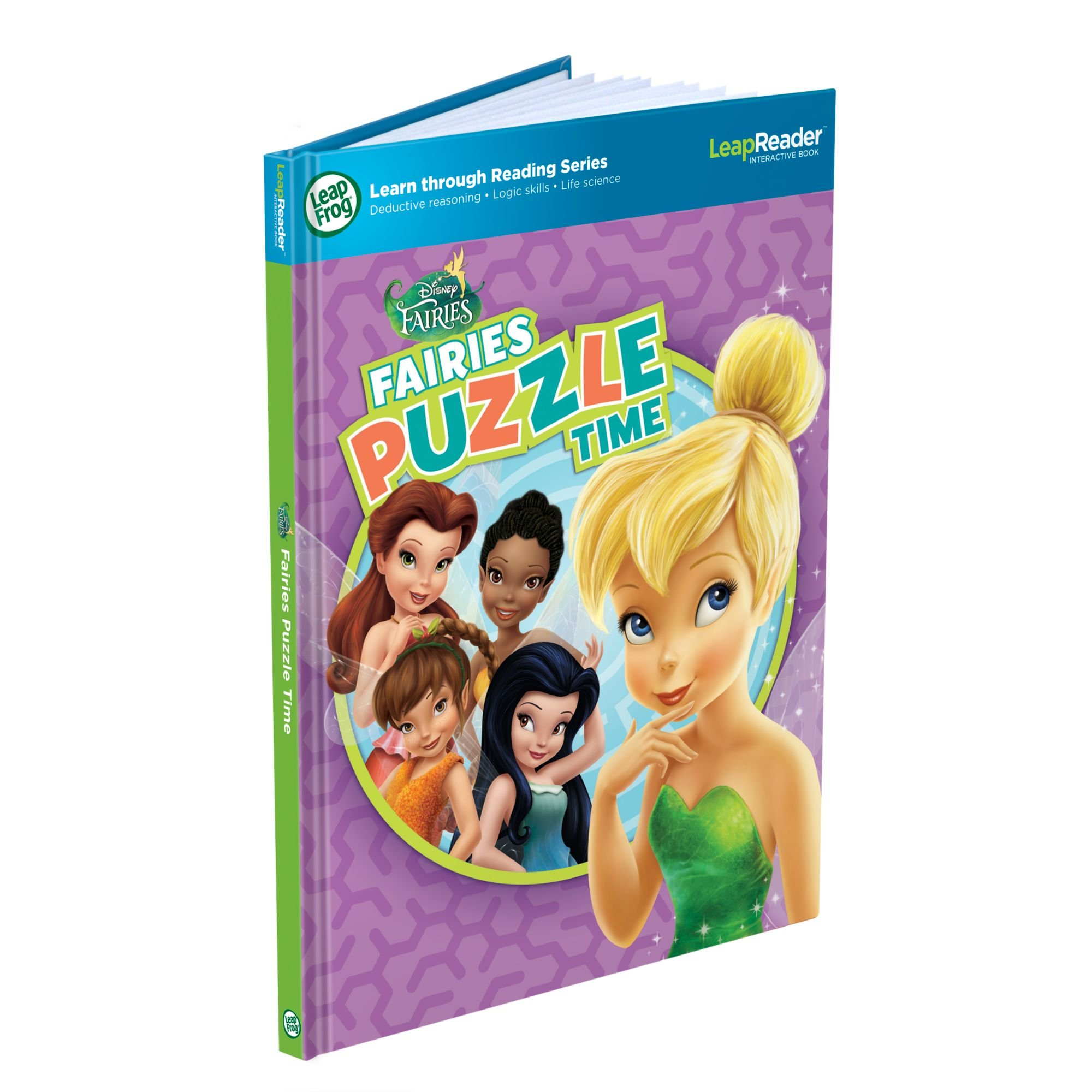 LeapFrog LeapReader Book: Disney Fairies Puzzle Time (works with Tag) by LeapFrog
