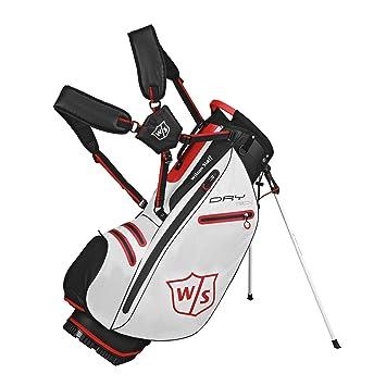 Wilson W/S Dry Tech Carry WH Bolsas de Palos de Golf, Unisex ...