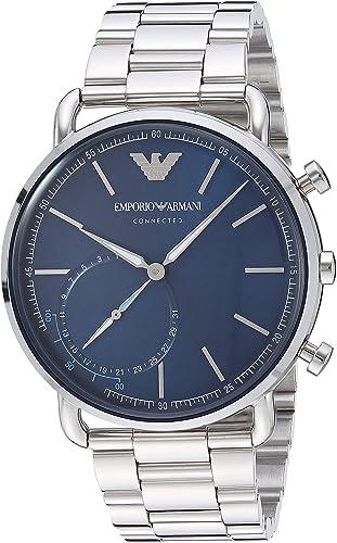 Amazon.com: Emporio Armani Reloj inteligente híbrido de ...