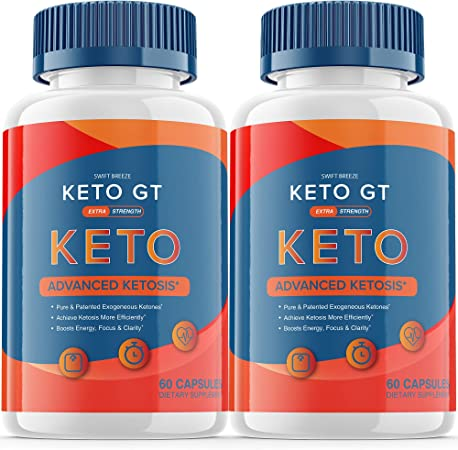 (2 Pack) Keto GT Pills Ketogt Advanced Weight Loss Extra Strength Formula Bottle Ketp g t Capsulas Official One Shot Pastillas dr Tablets 800mg BHB Supplement (120 Capsules)