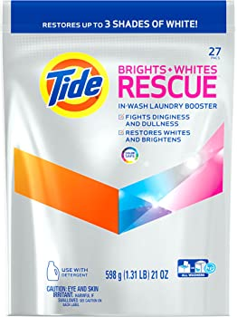 Tide Brights and Whites In-Wash Detergent Booster