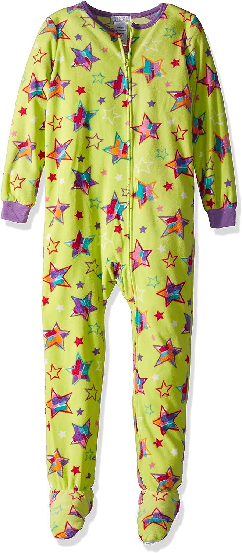 Amazon.com: Komar Kids Girls' Big Plush Velour Fleece Footed Blanket Sleeper  Pajama: Clothing