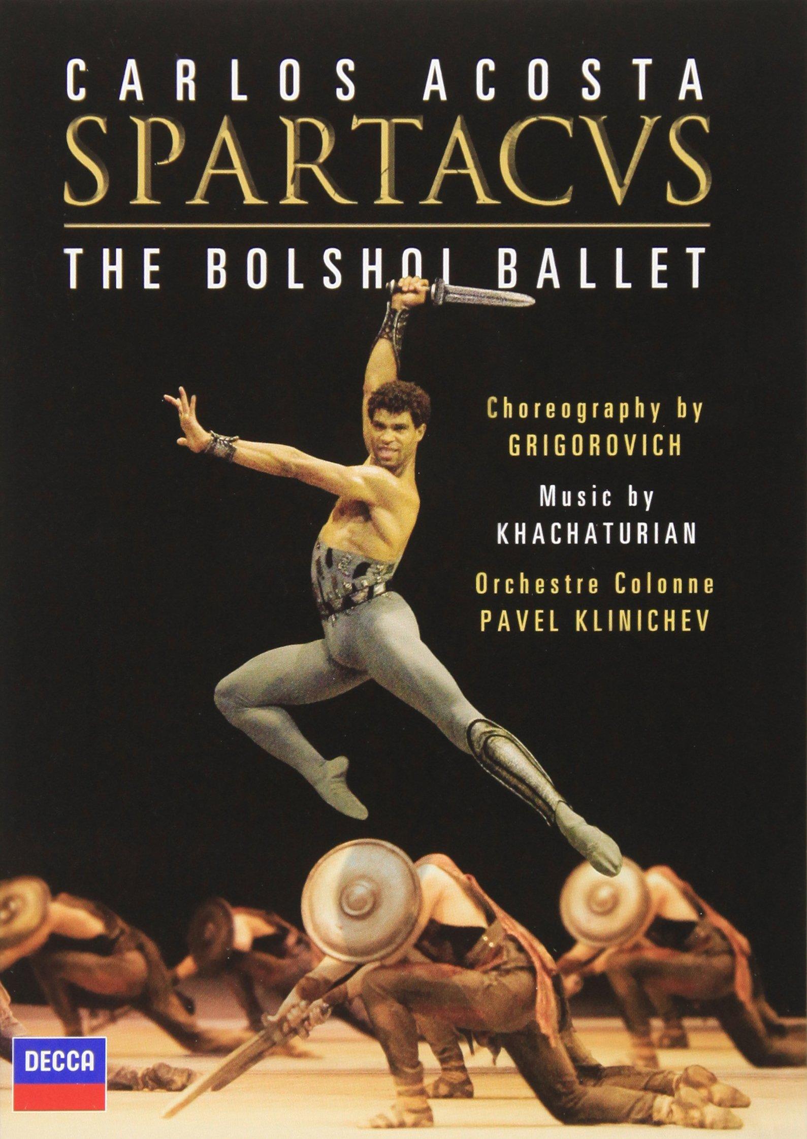 DVD : Carlos Acosta - Spartacus (Widescreen)