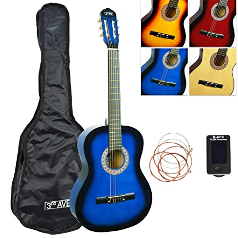 3rd Avenue STX20ABBPK Paquete de guitarra clásica de tamaño ...
