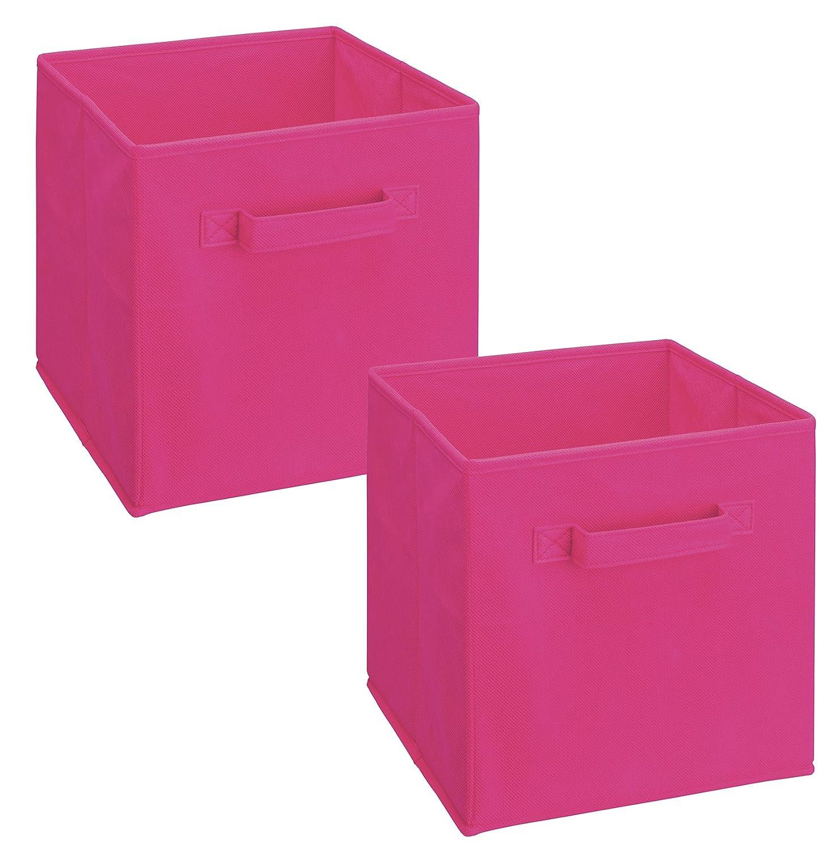 ClosetMaid 3878 Cubeicals Fabric Drawer Light Purple 2-Pack