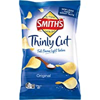 Smiths Thinly Cut Original Potato Chips 12 X 175 Grams