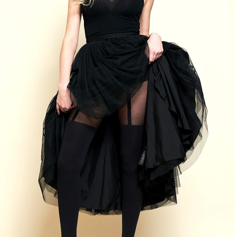 Pretty Polly Womens Suspender Tights